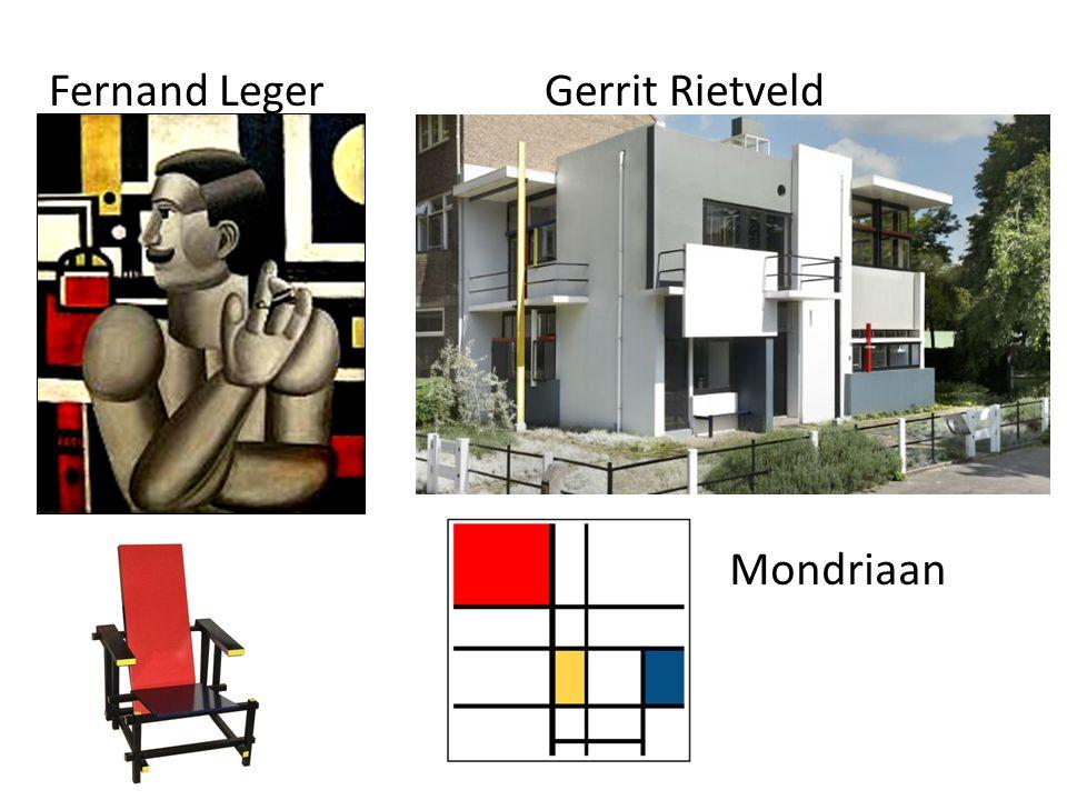 Fernand LegerGerrit Rietveld Mondriaan