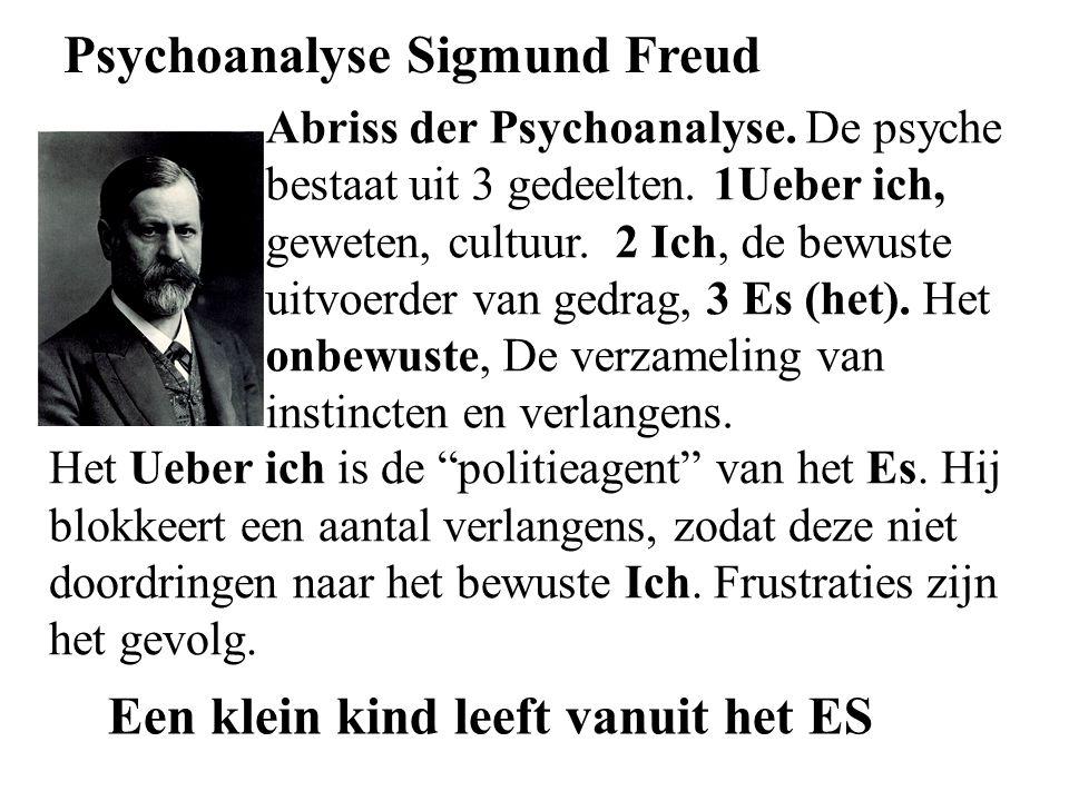 Psychoanalyse Sigmund Freud Abriss der Psychoanalyse.