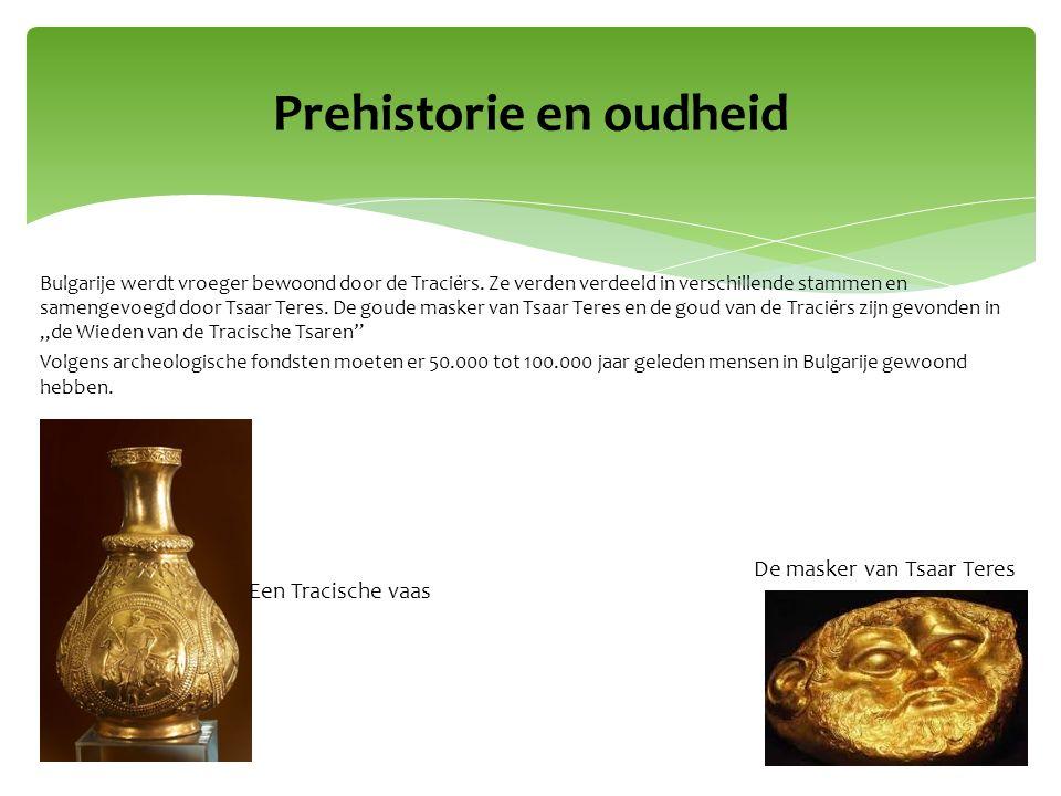 Prehistorie en oudheid Een Tracische vaas De masker van Tsaar Teres