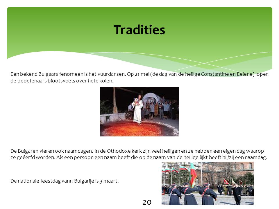 Tradities 20