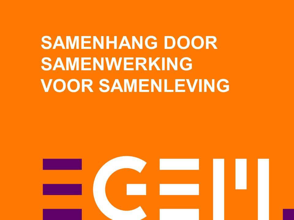 SAMENHANG DOOR SAMENWERKING VOOR SAMENLEVING
