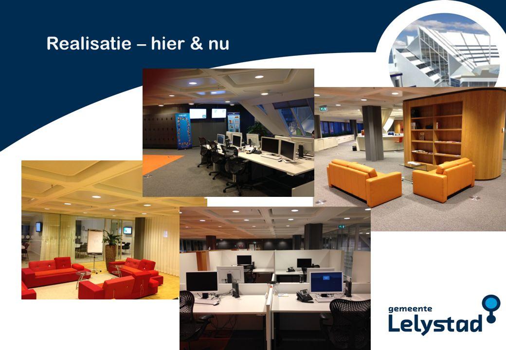 PowerPoint presentatie Lelystad Realisatie – hier & nu