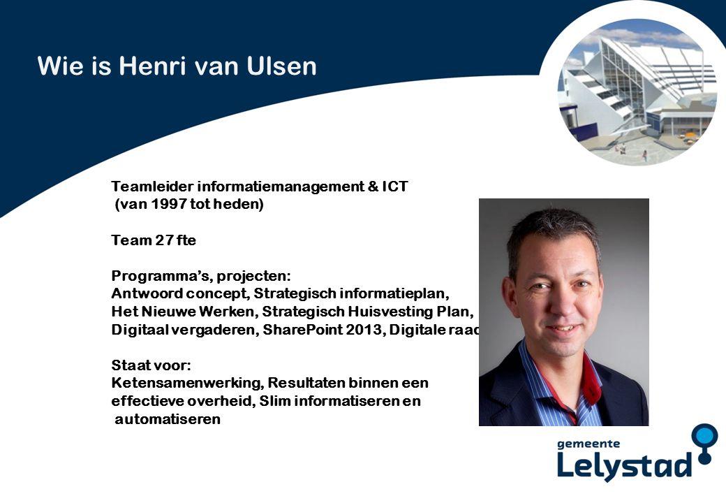 PowerPoint presentatie Lelystad Door de toename van flexibiliteit en mobiliteit is het noodzakelijk om extra maatregelen te nemen ten aanzien van de beveiliging.