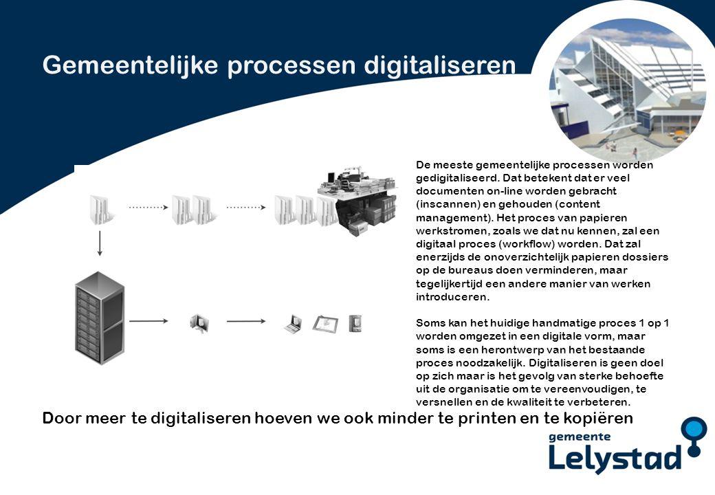PowerPoint presentatie Lelystad Elke werkplek is anders.