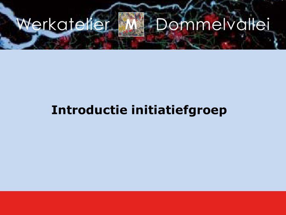 Introductie initiatiefgroep