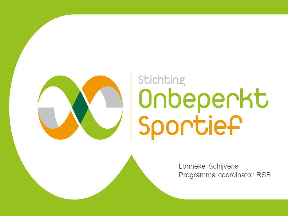 Lonneke Schijvens Programma coordinator RSB
