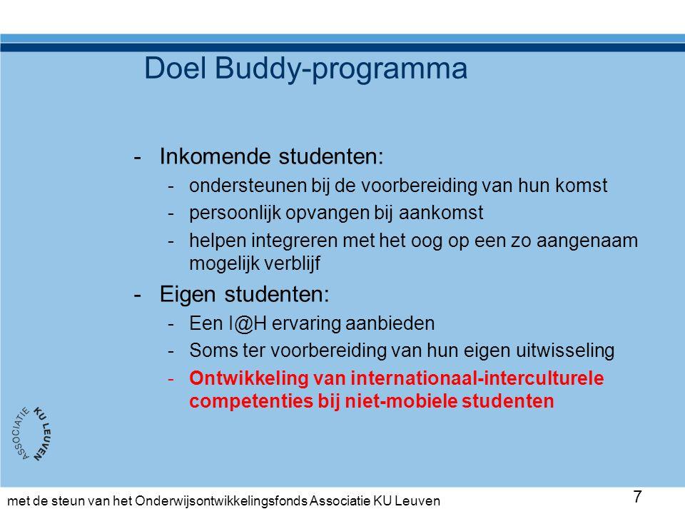 met de steun van het Onderwijsontwikkelingsfonds Associatie KU Leuven Inhoud Wat is cultuur.