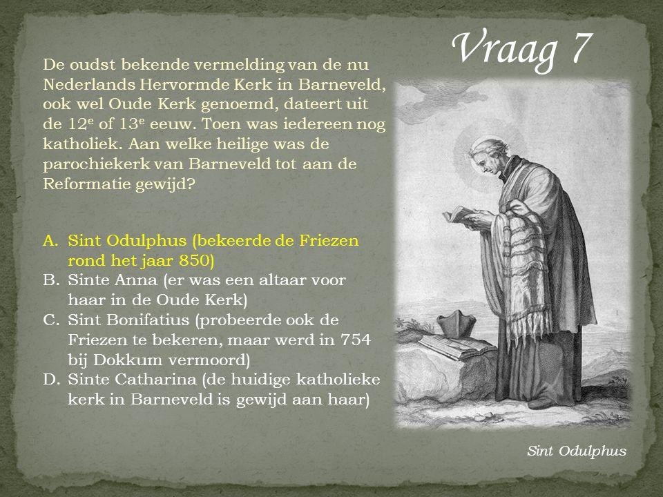 De oudst bekende vermelding van de nu Nederlands Hervormde Kerk in Barneveld, ook wel Oude Kerk genoemd, dateert uit de 12 e of 13 e eeuw.