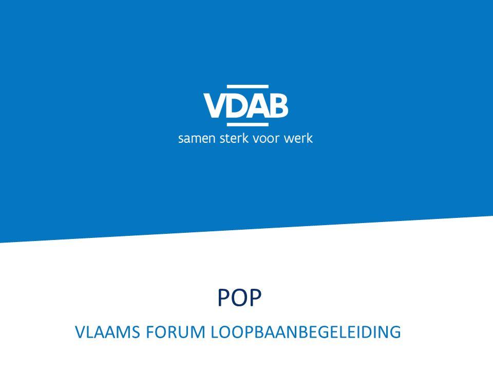 POP VLAAMS FORUM LOOPBAANBEGELEIDING