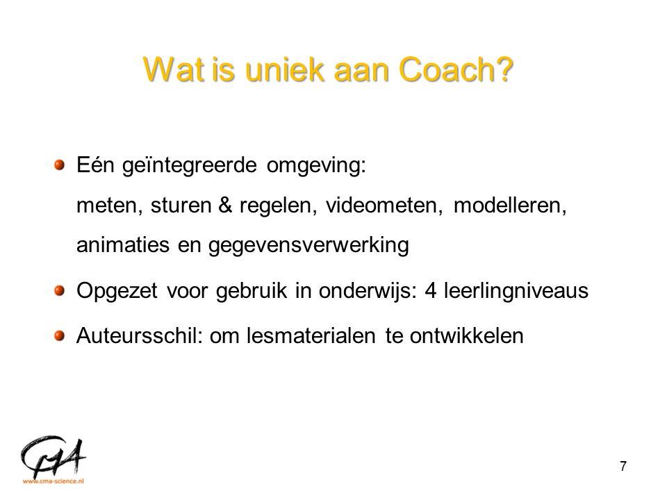 Wat is uniek aan Coach.