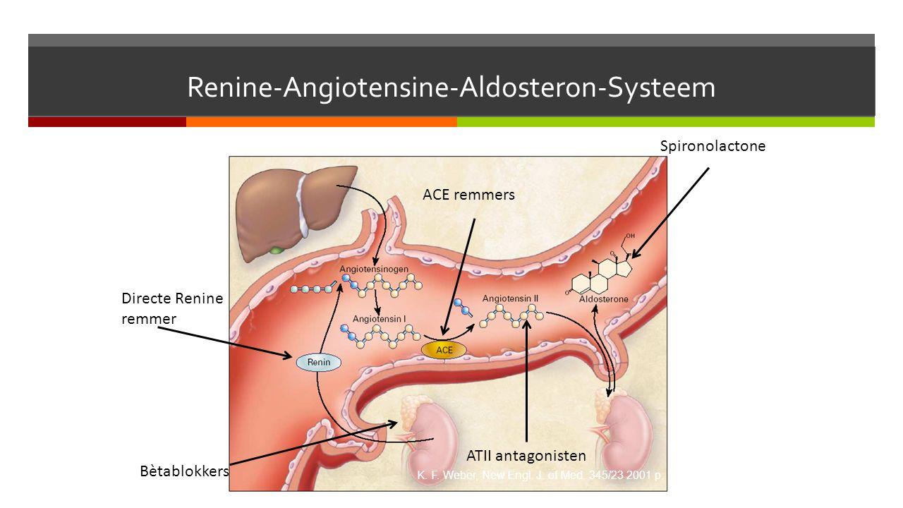 Renine-Angiotensine-Aldosteron-Systeem K. F. Weber, New Engl.
