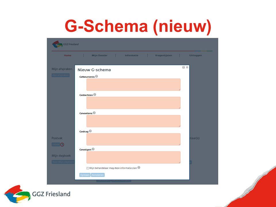 G-Schema (nieuw)