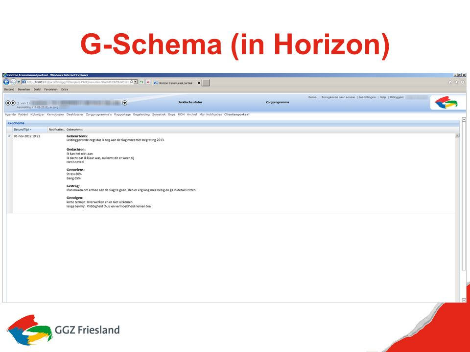G-Schema (in Horizon)