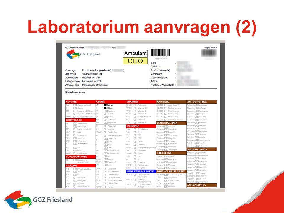 Laboratorium aanvragen (2)