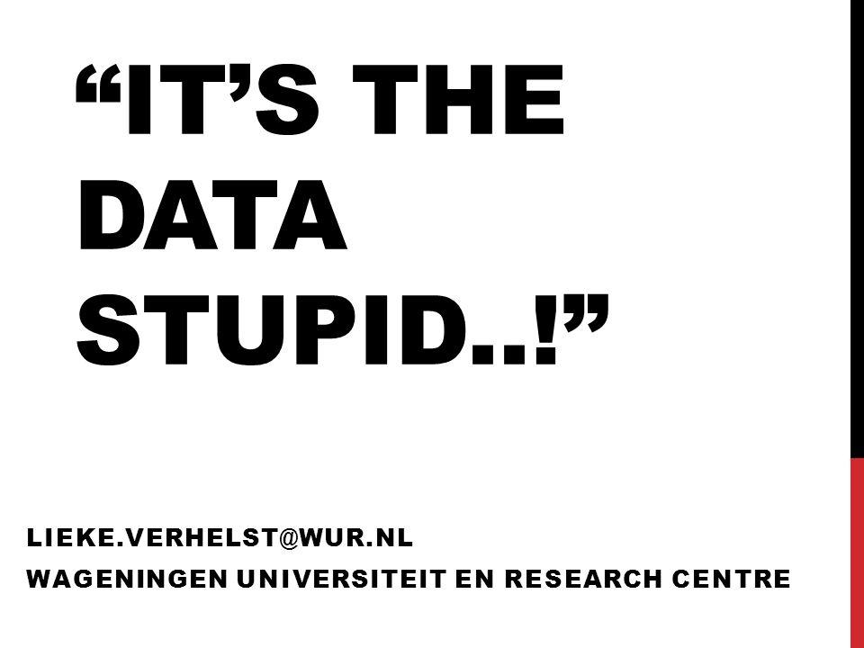 WAT IS OPEN DATA.Is een webservice Open Data.