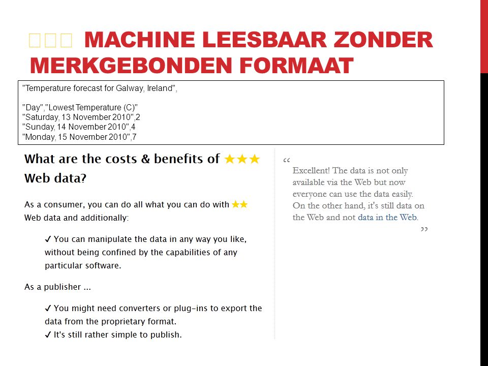★★★ MACHINE LEESBAAR ZONDER MERKGEBONDEN FORMAAT Temperature forecast for Galway, Ireland , Day , Lowest Temperature (C) Saturday, 13 November 2010 ,2 Sunday, 14 November 2010 ,4 Monday, 15 November 2010 ,7