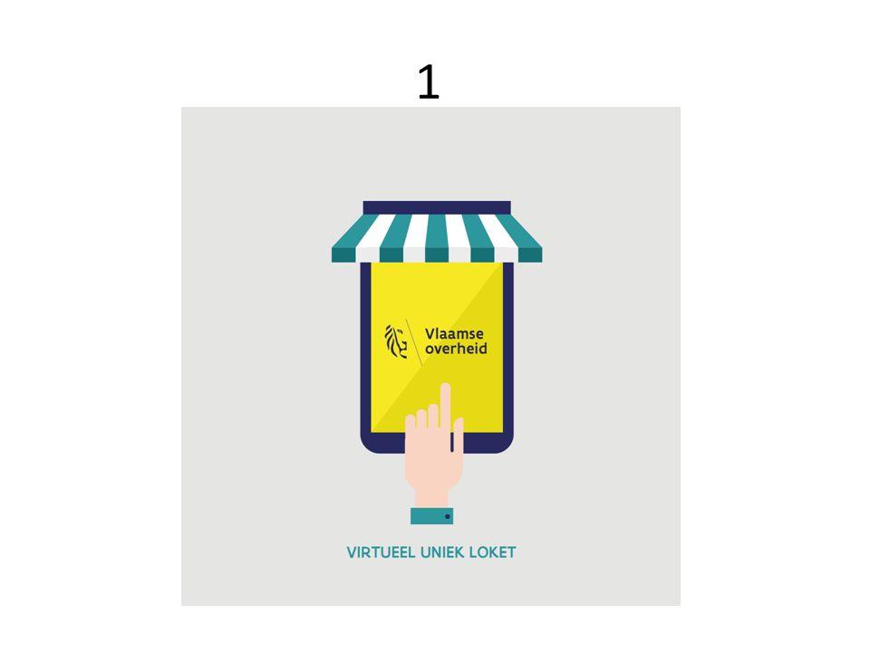 1 Digitale interacties aangepast aan de burger/ondernemer o digital first o 1 uniek loket (vlaanderen.be) o toestelonafhankelijk o gebruik e-loket bouw- Stenen (berichtenbox, dossierstatus, e-formulieren)