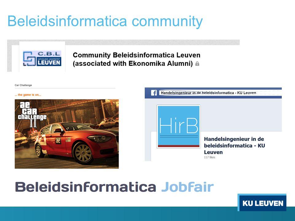 Beleidsinformatica community