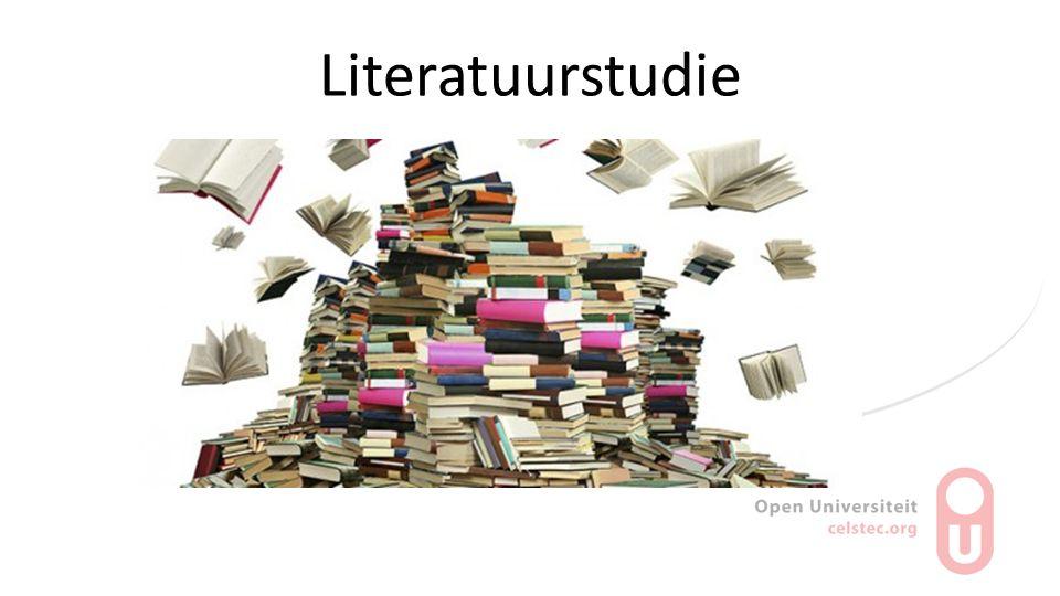 Literatuurstudie