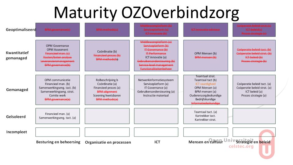 Maturity OZOverbindzorg