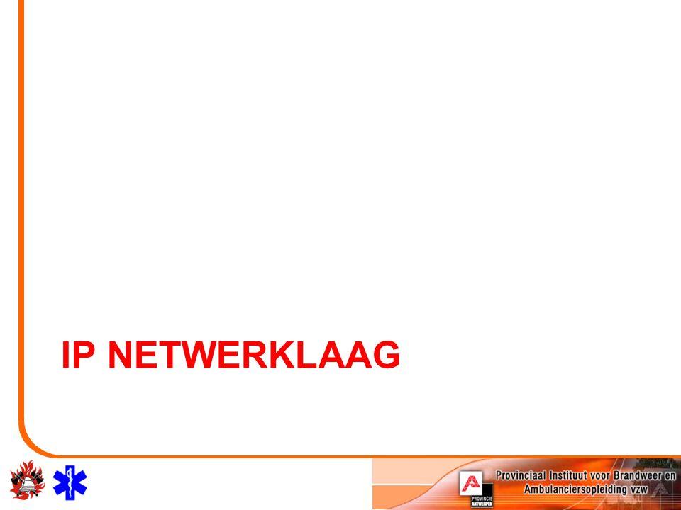 IP NETWERKLAAG