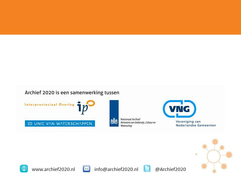 www.archief2020.nlinfo@archief2020.nl@Archief2020