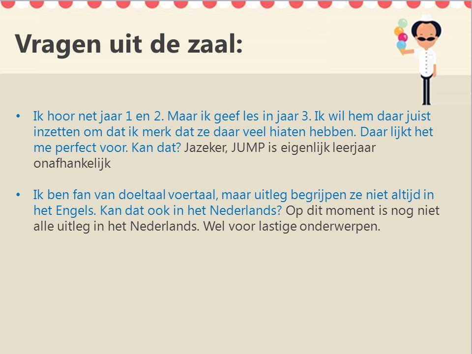 Ondersteuning Ga voor ondersteuning naar: De website www.jump-malmberg.nl Klik op ondersteuning (o.a.