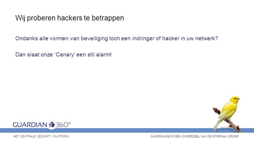 Wij proberen hackers te betrappen Ondanks alle vormen van beveiliging toch een indringer of hacker in uw netwerk? Dan slaat onze 'Canary' een stil ala