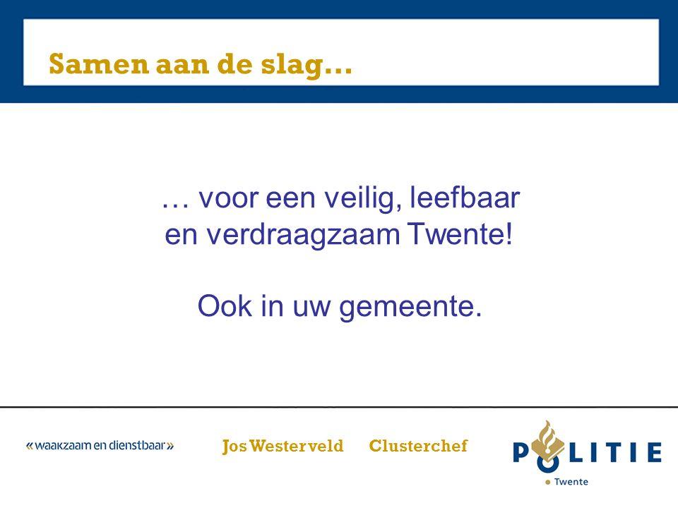 … voor een veilig, leefbaar en verdraagzaam Twente.