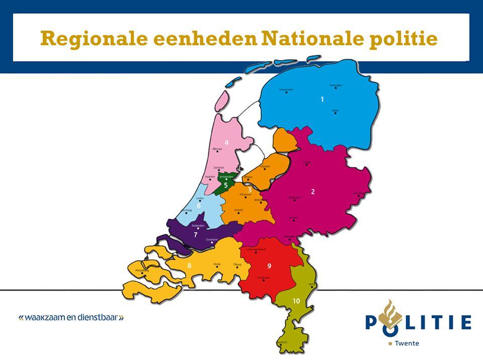 Regionale eenheden Nationale politie