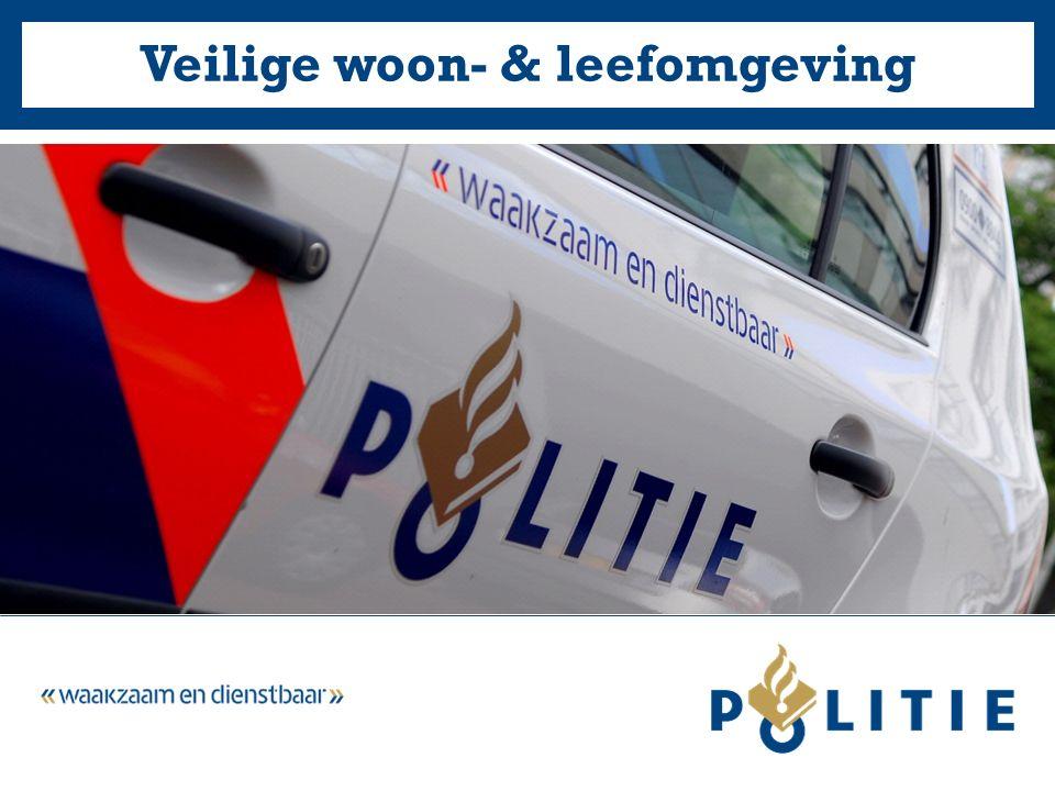 28-5-2016Veilige woon- & leefomgeving Politie Oost-Brabant2 Veilig gedrag (1)  Doe nooit zomaar de deur open  Laat alleen degene binnen die u kent of vertrouwt, vraag om legitimatie.