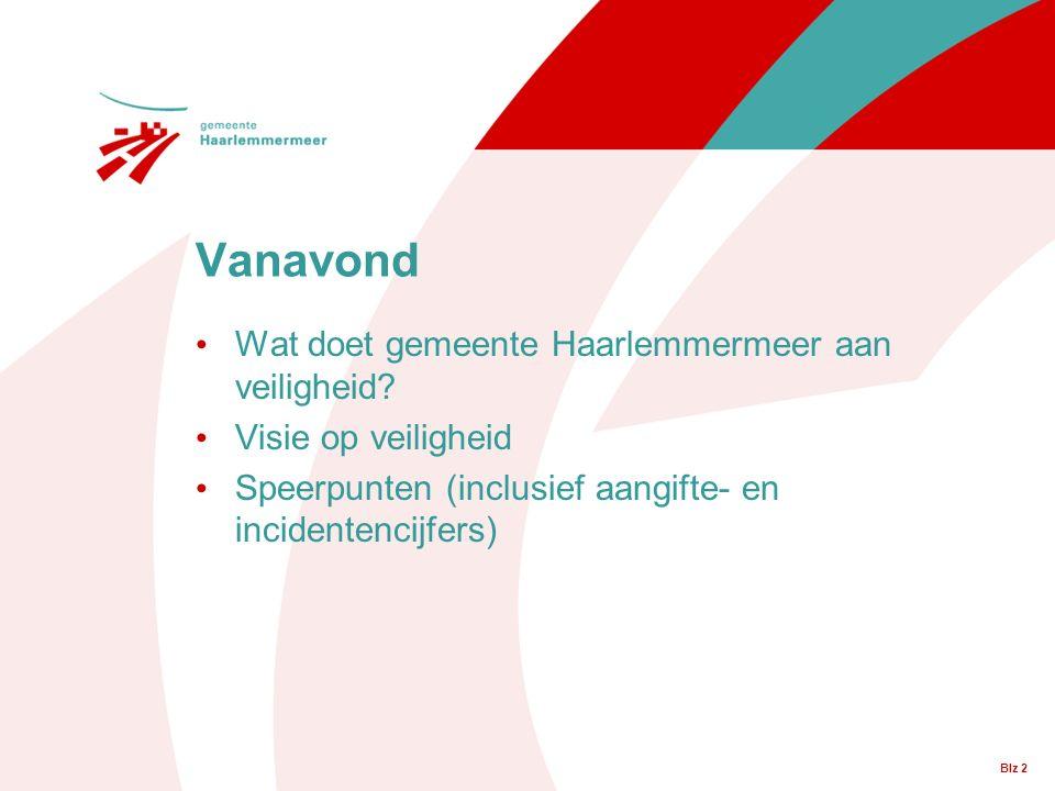 Blz 2 Wat doet gemeente Haarlemmermeer aan veiligheid.