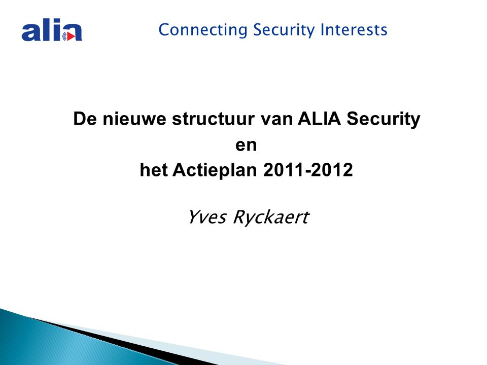 Connecting Security Interests Overzicht definities  Plaatsen  Bewakingscamera's  Arbeidsplaats  Verantwoordelijke verwerking Wet bewakingscamera s - Definities
