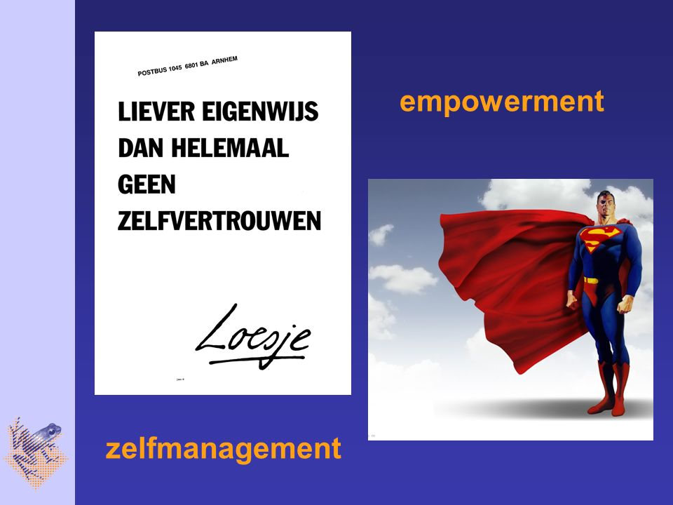 zelfmanagement empowerment