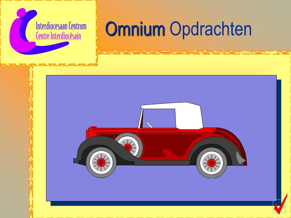 Omnium Omnium Opdrachten