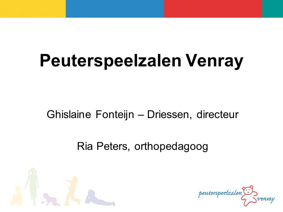Ghislaine Fonteijn – Driessen, directeur Ria Peters, orthopedagoog Peuterspeelzalen Venray