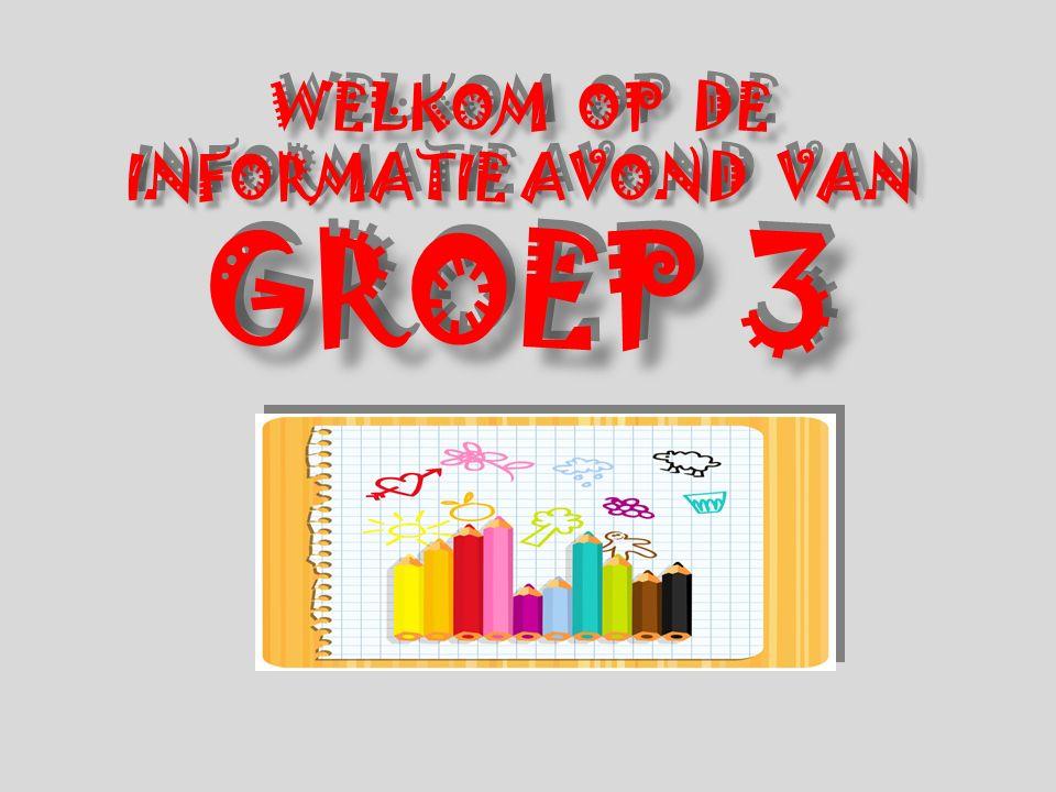 WELKOM OP DE INFORMATIE AVOND VAN GROEP 3