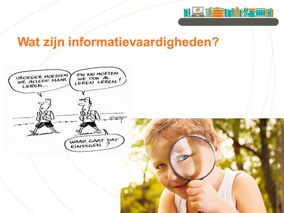 Wat zijn informatievaardigheden?