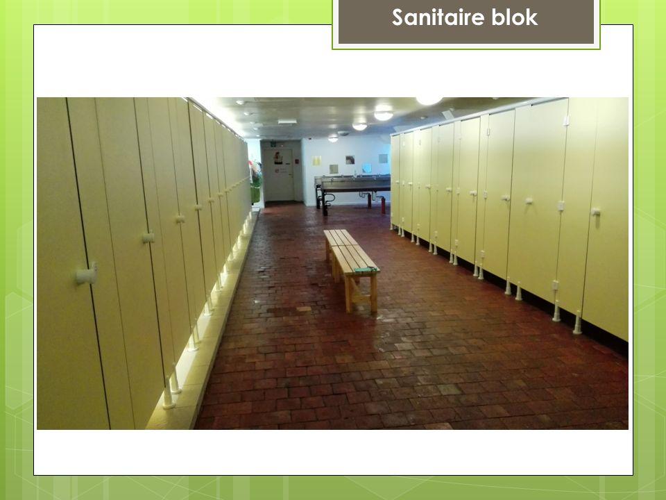 Sanitaire blok