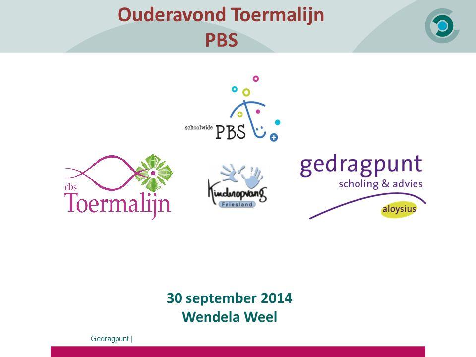 Ouderavond Toermalijn PBS Susan de Bruin 30 september 2014 Wendela Weel