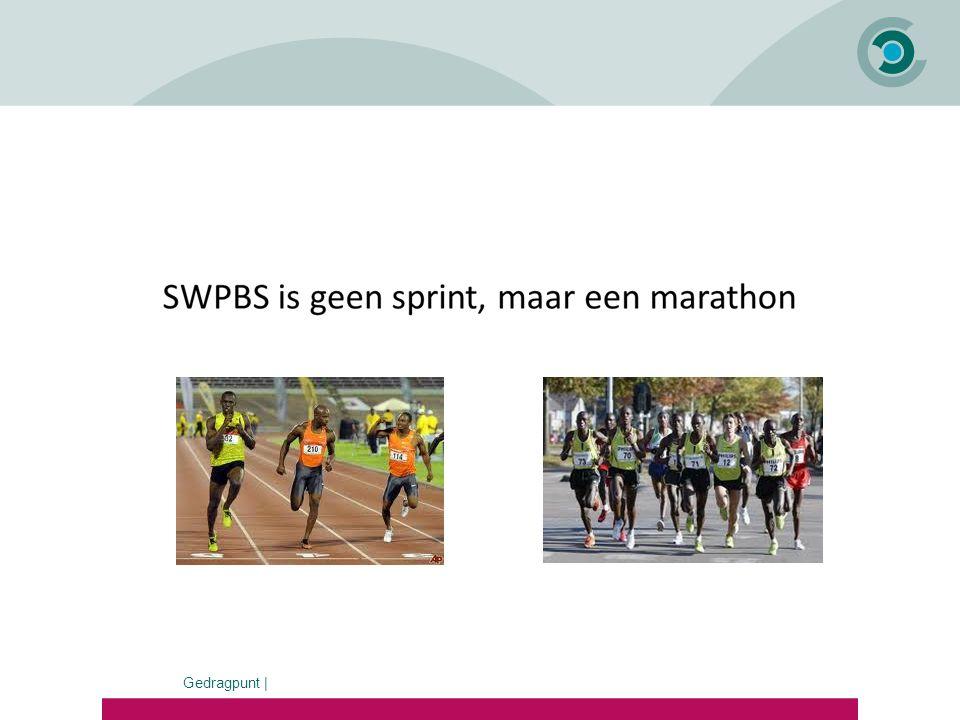 SWPBS is geen sprint, maar een marathon !