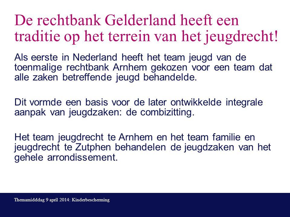 De rechtbank Gelderland heeft een traditie op het terrein van het jeugdrecht.