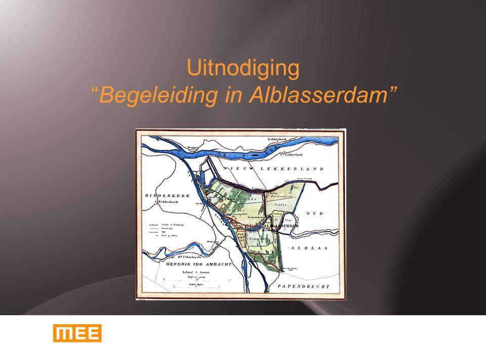 Uitnodiging Begeleiding in Alblasserdam