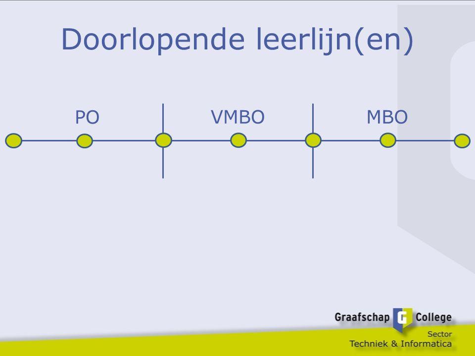 Doorlopende leerlijn(en) PO VMBOMBO