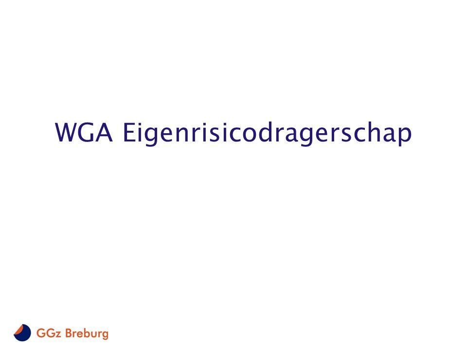 2 Scope eigenrisico- dragerschap WGA 0-35% AO Categorieën WIA Inkomensvoorziening Volledig Arbeidsongeschikten Volledig en duurzaam arbeidsongeschikt (AO) Werkhervatting Gedeeltelijk Arbeidsgeschikten Geen uitkering Publiek verzekerd via WAO/WIA basispremie Verzekerd via WGA Eigenrisicodragerschap Tussen 35-80% AO of volledig en niet duurzaam AO Tussen 0-35% AO VoorwaardenFinanciering Primair financiering werkgever NB: bij eventuele herbeoordeling van een IVA uitkering of een 0 – 35% AO kan er alsnog een WGA-uitkering worden toegekend, de uitkering kan aan de eigenrisicodrager worden toegerekend Wet Werk en Inkomen naar Arbeidsvermogen Scope IVA