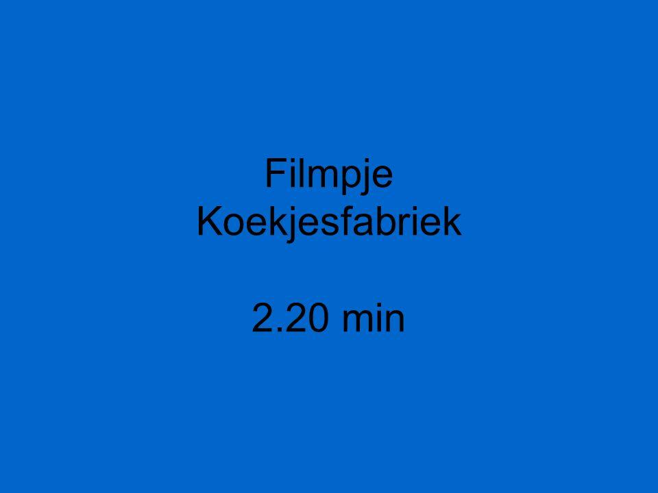 Filmpje Koekjesfabriek 2.20 min