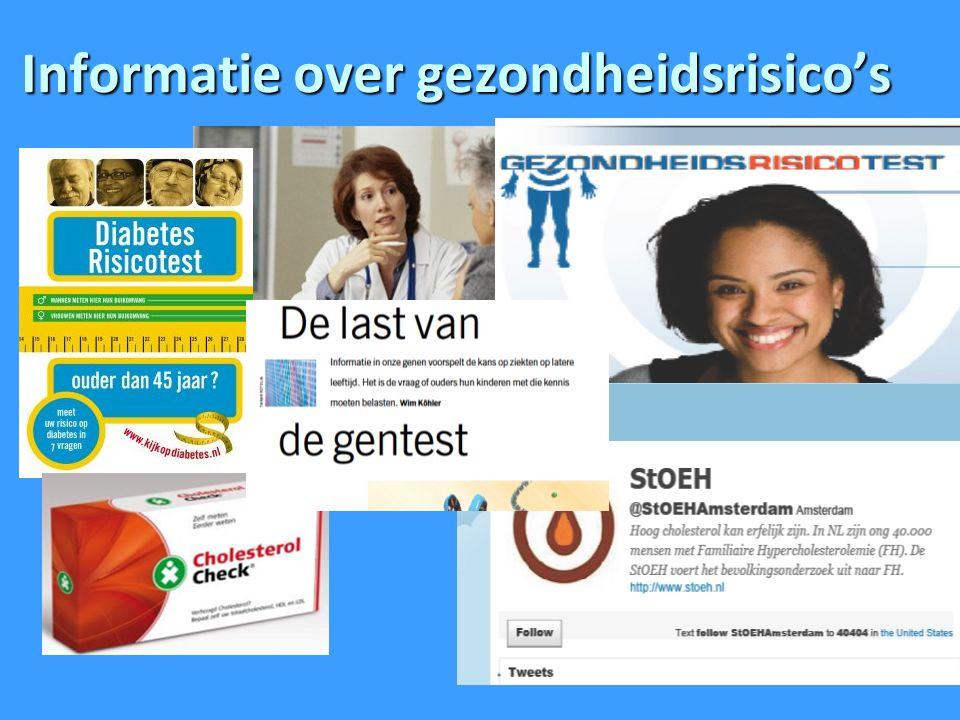 Informatie over gezondheidsrisico's