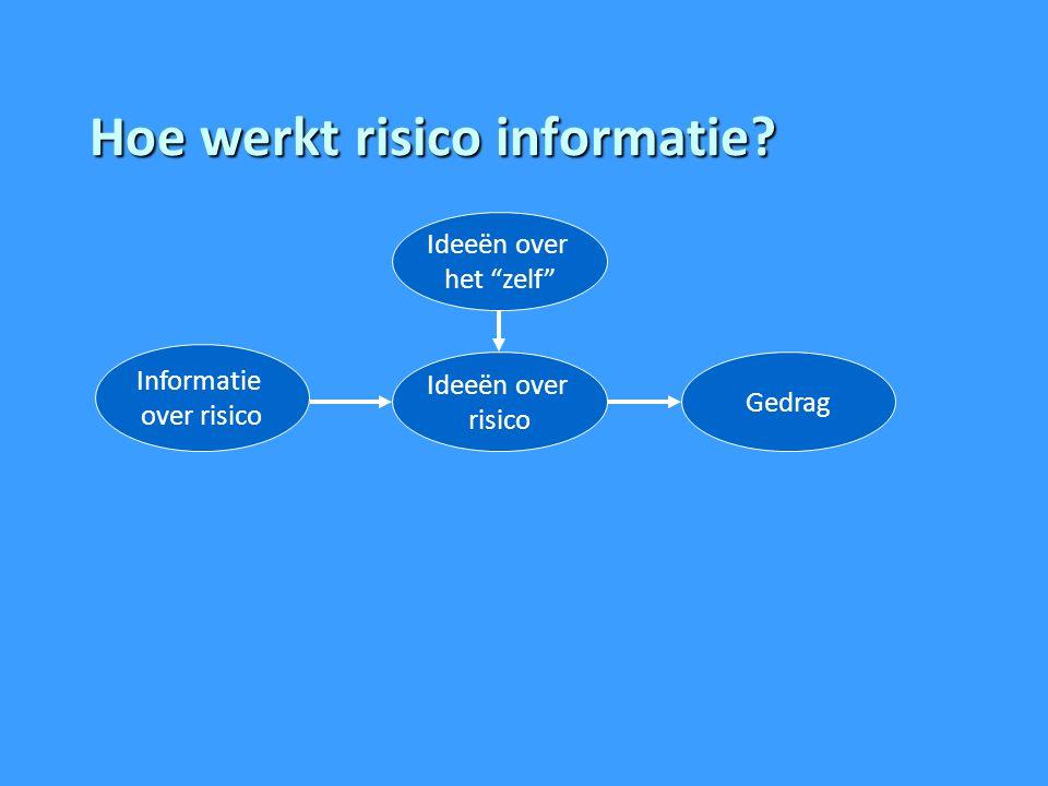 Hoe werkt risico informatie.