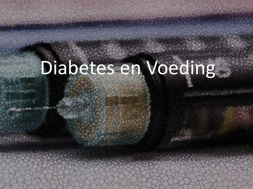 Diabetes en Voeding