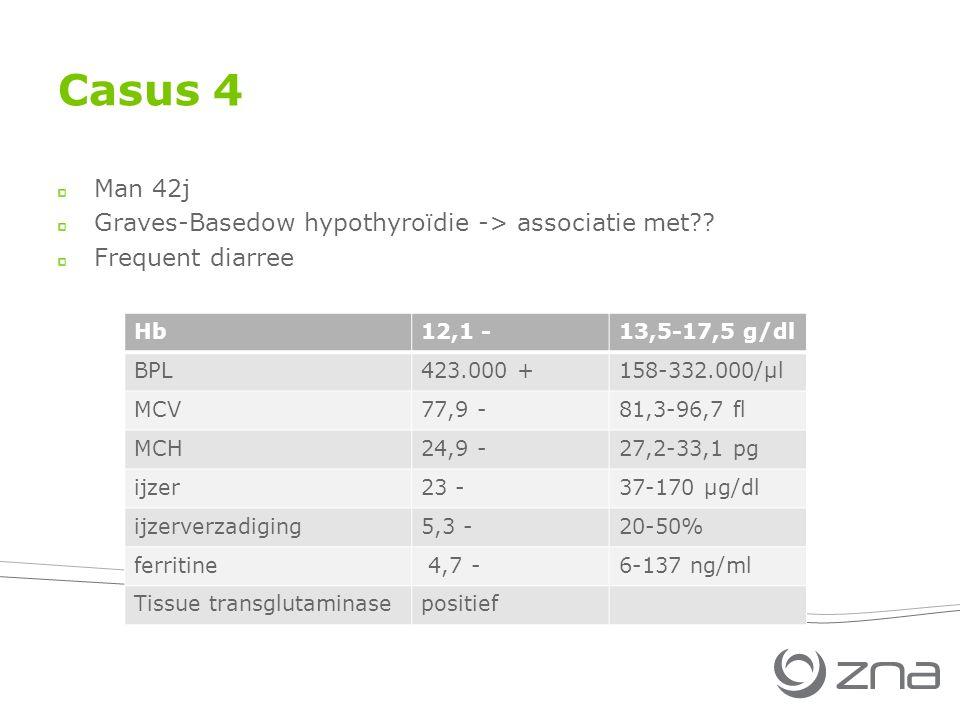 Casus 4 Man 42j Graves-Basedow hypothyroïdie -> associatie met?.